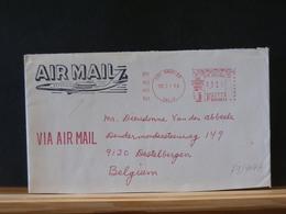 79/404A LETTER TO  BELGIUM  1980  AIR MAIL - Verenigde Staten