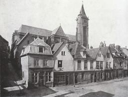 1907 - Iconographie - Amiens (Somme) - La Place Fauvel - FRANCO DE PORT - Vieux Papiers