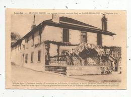 Cp , Hôtels & Restaurants, 65 ,LOURDES ,LE CLOS FLEURI , Badie-Bernadou , Voyagée 1948 - Hotels & Restaurants