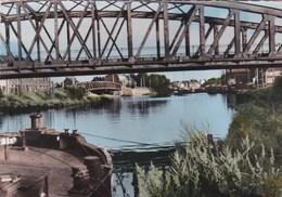 DORIGNIES - DOUAI .Le Pont Du Polygone. Péniche - Douai