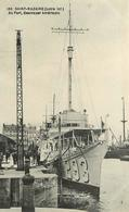 SAINT NAZAIRE - Au Port Destroyer Américain N° 293. - Guerre