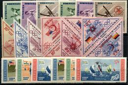 3698- República Dominicana Nº 108/22, 129/31, 134/6 - República Dominicana
