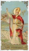 Santino NUOVO Fustellato SAN GENNARO - Ristampa Tipografica Da Santino Antico - PERFETTO G2 - Religione & Esoterismo
