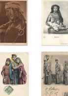 Tres Belle Selection De 15 Cpa Afrique Du Nord. ( Bédouines, Scénes Et Types, Portrait) - Cartes Postales