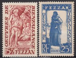 N° 54 Et N° 55 - X X - ( C 1384 ) - Fezzan (1943-1951)