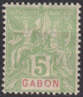 N° 19 - X - Gabon (1886-1936)