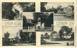 ELSENBORN Village - ELSENBORN Dorp : RARE CPA - Cachet De La Poste 1958 - Elsenborn (Kamp)