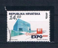 Kroatien 2000 EXPO Mi.Nr. 547 Gestempelt - Kroatien