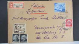 DR 33-45: E-Fern-Brief Mit 25 Pf  F-Messe Leipzig 1941 Aus Plauen (783) Nach Wernigerrode Vom 26.6.40 Knr: 767 Ua - Deutschland