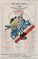 CPA VINCENNES VAL DE MARNE MOTEURS CHARLES ROULLAND 42-44 AVENUE AUBERT VINCENNES - Vincennes