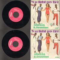 Sheila B. Devotion - You Light My Fire - Gimme Your Loving - Disco & Pop