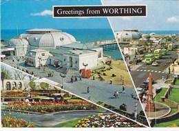 WORTHING - Carte Multi Vues (Greetings From Worthing) - - Worthing