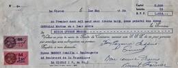 La Ciotat   1938   Boulangerie 62  Boulevard De La République - Bills Of Exchange