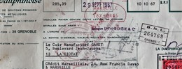 La Ciotat   1967 Manufacture Gamet Bd  J. Jaures - Bills Of Exchange