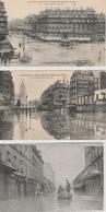 18/9/234. -  LOT  DE  6 CP  INONDATIONS  DE  PARIS (  1910 ) - Paris Flood, 1910