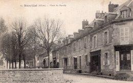 S276  - Cpa 03 Marcillat - Place Du Marché - France