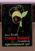 RARE  Miroir Publicitaire   Rouge Baiser - Accessoires