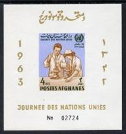 6241 Afghanistan 1964 Laboritory Technicians (UN) (medical Science United Nations Microscopes Chemistry) U/m - Afghanistan