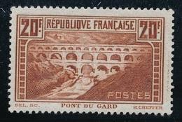 """CF-52: FRANCE: Lot  """"SITES ET MONUMENTS"""" Avec N°262c* - France"""
