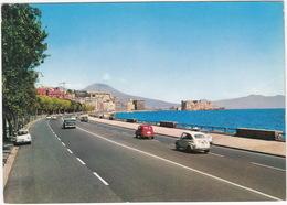 Napoli: CHEVROLET BEL AIR,  FIAT 600 & 600 MULTIPLA - Via Caracciolo - (Italia) - Turismo