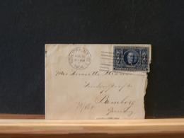 79/487 SMALL LETTRE TO GERMANY 1904 - Briefe U. Dokumente