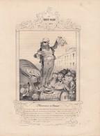 DAUMIER.  LES ROBERT-MACAIRE N° 4 MESSIEURS ET DAMES.  268 X 197   / 6000 - Stiche & Gravuren