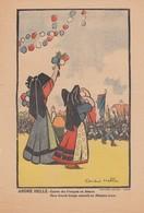 ANDRÉ HELLÉ. ENTREE DES FRANCAIS EN ALSACE.  280 X 190   / 6000 - Estampes & Gravures