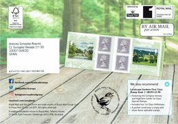 ROYAL MAIL COMMUNICATION STAMPS TIMBRES SONGBIRDS GARDENS - Pájaros Cantores (Passeri)