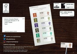 ROYAL MAIL COMMUNICATION STAMPS TIMBRES MACHIN ANNIVERSARY - Otros