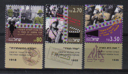Israel 1992 The First Hebrew Film  Y.T. 1189/1191 ** - Unused Stamps (with Tabs)
