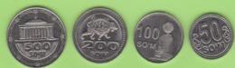 Uzbekistan, Set Of Coins 2018, Coins Of Uzbekistan UNC NEW - Uzbekistan