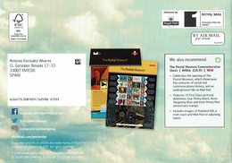 ROYAL MAIL COMMUNICATION STAMPS TIMBRES MAIL BY AIR AVION - Aviones