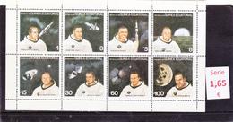 Guinea Ecuatorial -  Hojas Bloque Cosmos  Astronauta  -  7945 - Guinea Ecuatorial