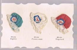 Sainte-Catherine . Espérez-Presez--Vous-Trop--Tard . 16-20-25 Ans . Petits Bonnets Bleu-blanc-rouge . - Sainte-Catherine