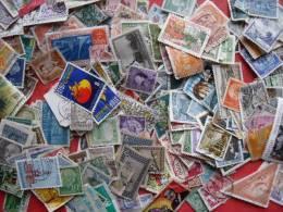 500 TIMBRES POSTE  DE DIVERS PAYS EN 2 EME CHOIX - Lots & Kiloware (mixtures) - Max. 999 Stamps