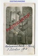 OOSTNIEUWKERKE-CARTE PHOTO Allemande-Guerre 14-18-1WK-BELGIQUE-BELGIEN- - Staden