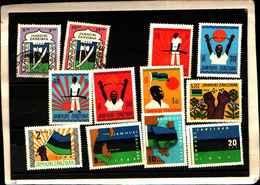 72027 )  LOTTO DI FRANCOBOLLI DI ZANZIBAR-MLH-2 USATI - Zanzibar (1963-1968)