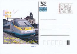 Rep. Ceca / Cart. Postali (Pre2012/71) Il Nuovo Orario Ferroviario 2012/2013 (1) Ferrovie Ceche S. A. - Fabbriche E Imprese