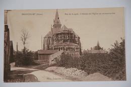 BRANCOURT- Rue De La Gare,L'Abside De L'église En Reconstruction - France