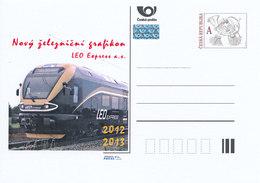 Rep. Ceca / Cart. Postali (Pre2012/72) Il Nuovo Orario Ferroviario 2012/2013 (2) LEO Express S. A. - Fabbriche E Imprese
