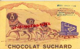 60- CHAUMONT EN VEXIN- BUVARD CHOCOLAT SUCHARD MILKA- NOISETTE CAFE- PATISSERIE PATISSIER M. CHAUVOT - Cacao