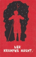 AK - Der KRAMPUS Wacht (Nr. 1002 Verlag Ludwig Strohschneider, Graz) 1925 - Holidays & Celebrations