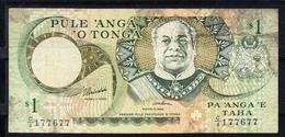 TONGA 1995 . 1 PA'ANGA .MBC. PICK Nº 31A .B1229 - Tonga