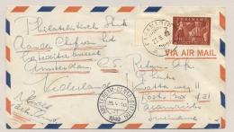Suriname - 1949 - Eerste KLM DC-6 Vlucht Van Paramaribo Naar Amsterdam / Nederland - Suriname ... - 1975