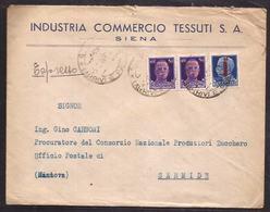 GR2094  - LETTERA ESPRESSA R.S.I. - 4. 1944-45 Repubblica Sociale
