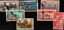 72028 )  LOTTO DI FRANCOBOLLI DI ZANZIBAR-USATI - Zanzibar (1963-1968)