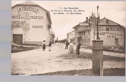 LA FAUCILLE . Le Col De La Faucille . Les Hôtels - Le Mont-Blanc . Alt.1323 M . - Andere Gemeenten