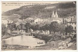 07 - LA LOUVESC - Le Lac Du Grand Lieu Et Vue Générale - MB 1843 - La Louvesc