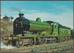 North British Railway Locomotive No 256 Glen Douglas - J Arthur Dixon Postcard - Trains