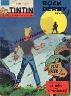 JOURNAL DES JEUNES TINTIN- N° 768- 1963- ROCK DERBY-AEROPLAGE BERCK PLAGE-62-VOITURE A VOILE-COSMONAUTE-EXODUS 47- - Tintin